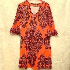 Aryeh Quarter Sleeve Shift Dress